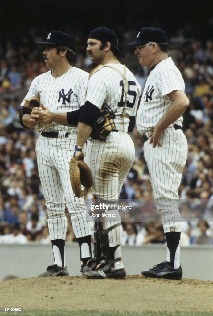 New York Yankees Thurman Munson