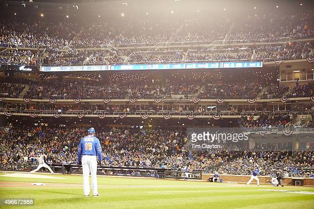 NLCS Playoffs Chicago Cubs Jake Arrieta in action pitching vs New York Mets Daniel Murphy at Citi Field Game 2 Flushing NY CREDIT Tim Clayton