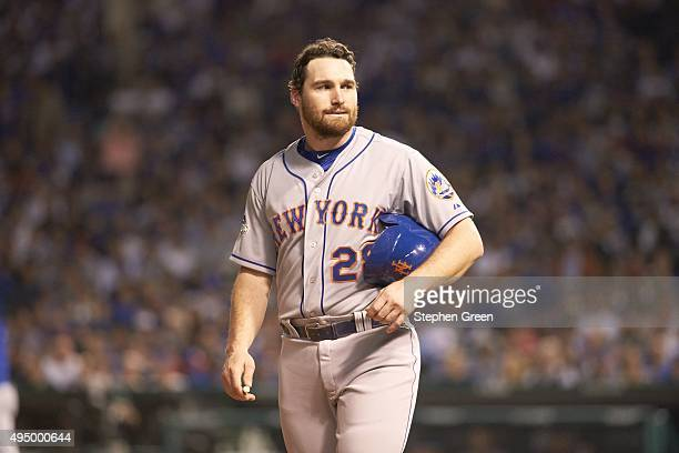 NLCS Playoffs New York Mets Daniel Murphy during game vs Chicago Cubs at Wrigley Field Game 4 Chicago IL CREDIT Stephen Green