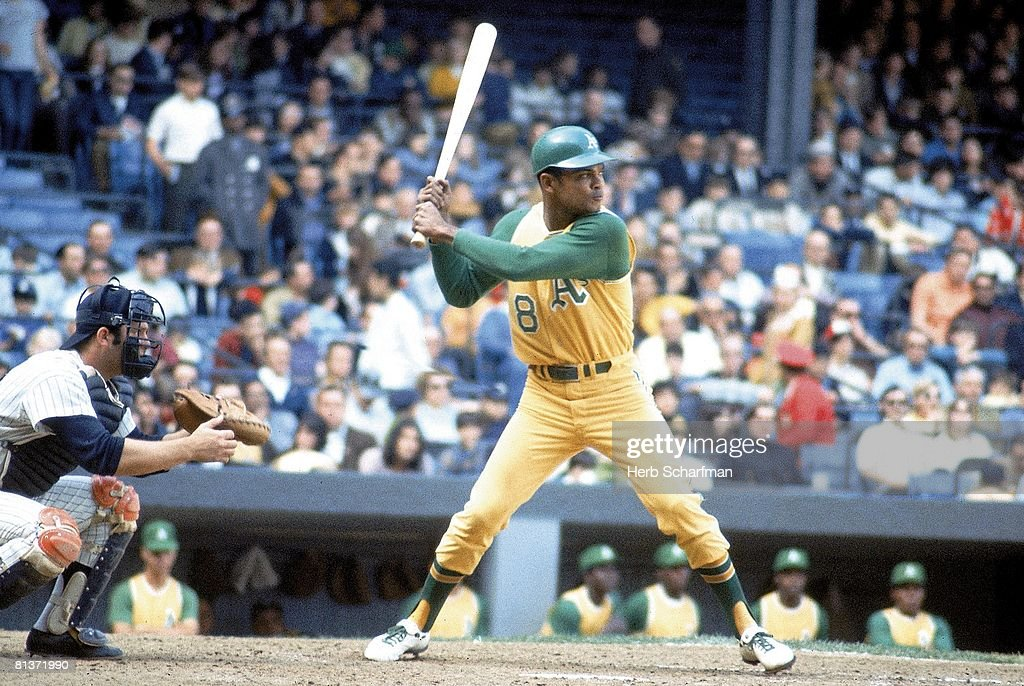Oakland Athletics Felipe Alou in action vs New York Yankees, Bronx, NY 4/25/1970