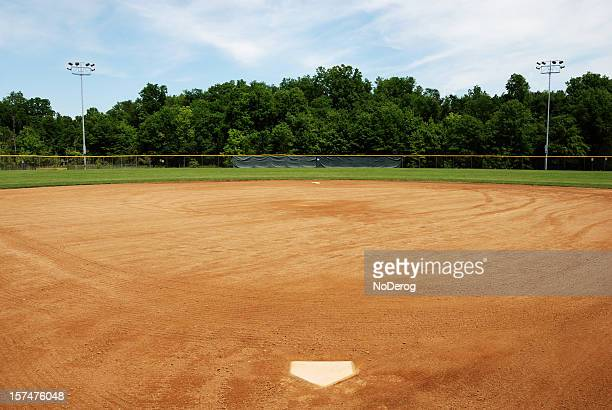 Baseball or softball field