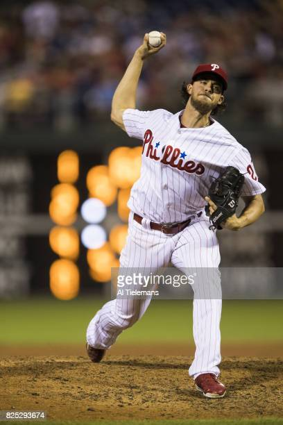 Philadelphia Phillies Aaron Nola in action pitching vs Houston Astros at Citizens Bank Park Philadelphia PA CREDIT Al Tielemans