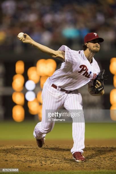 Philadelphia Phillies Aaron Nola in action pitching vs Houston Astros at Citizens Bank Park Philadelphia PA CREDIT Al Tielemans