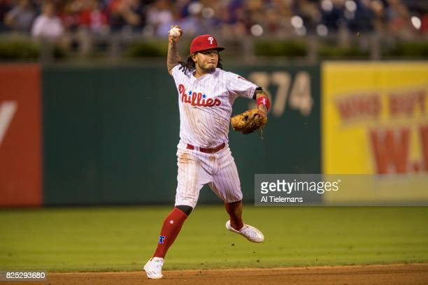 Philadelphia Phillies Freddy Galvis in action vs Houston Astros at Citizens Bank Park Philadelphia PA CREDIT Al Tielemans