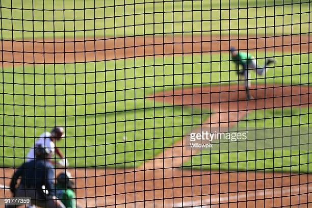 Terrain de Baseball en cours