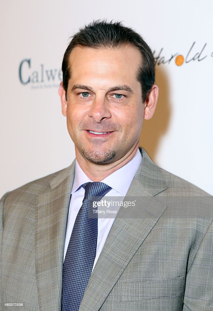 Baseball player <a gi-track='captionPersonalityLinkClicked' href=/galleries/search?phrase=Aaron+Boone&family=editorial&specificpeople=211224 ng-click='$event.stopPropagation()'>Aaron Boone</a> attends the 15th annual Harold & Carole Pump Foundation gala at the Hyatt Regency Century Plaza on August 7, 2015 in Century City, California.