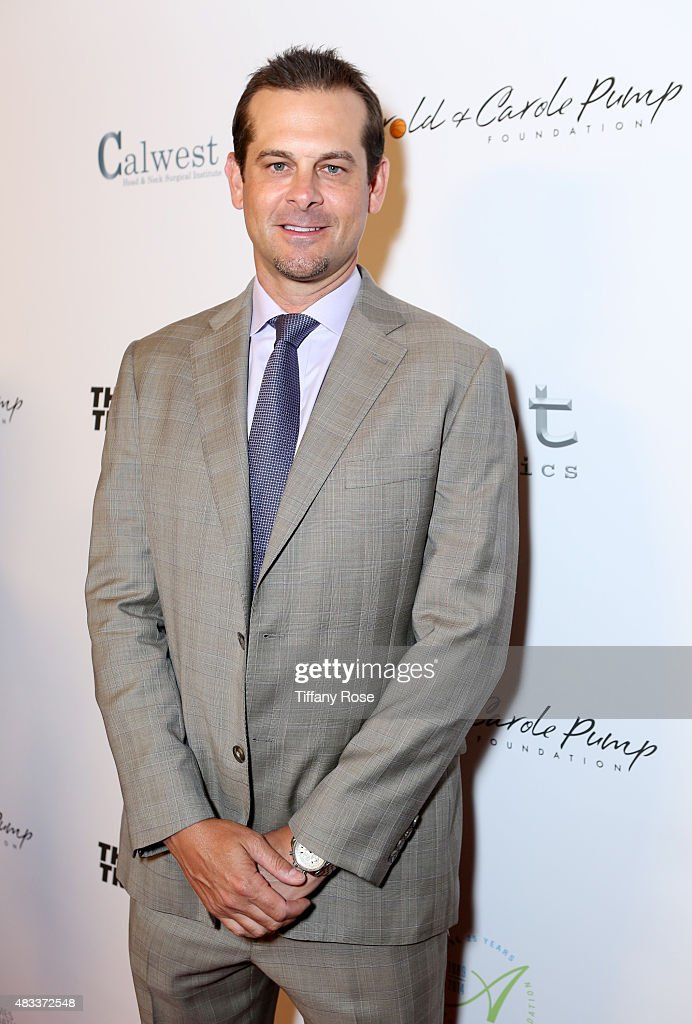 Baseball player Aaron Boone attends the 15th annual Harold & Carole Pump Foundation gala at the Hyatt Regency Century Plaza on August 7, 2015 in Century City, California.