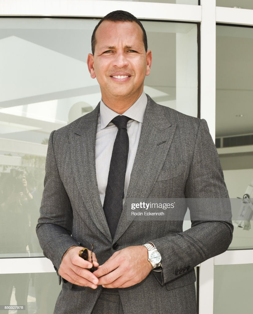 Baseball player and Founder & CEO of AROD Corp Alex Rodriguez attends the premiere of ABC's 'Shark Tank' Season 9 at The Paley Center for Media on September 20, 2017 in Beverly Hills, California.