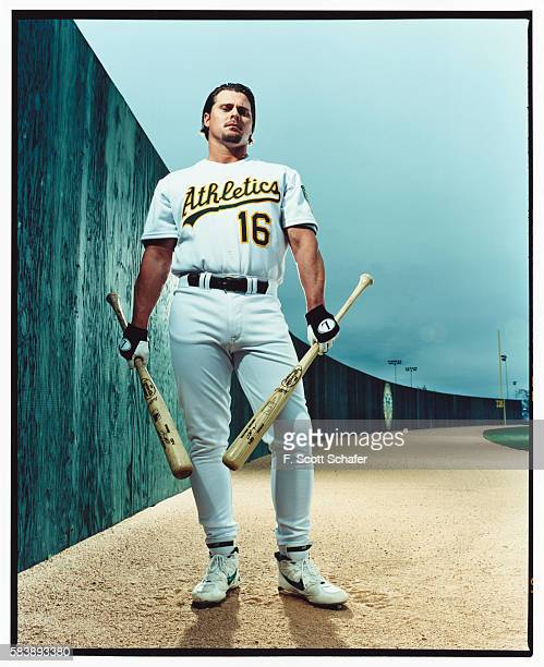 Baseball player Jason Giambi is photographed for ESPN The Magazine in 2001 in Los Angeles California