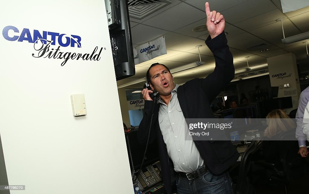 Baseball player Johnny Damon attends the annual Charity Day hosted by Cantor Fitzgerald and BGC at Cantor Fitzgerald on September 11, 2015 in New York City.