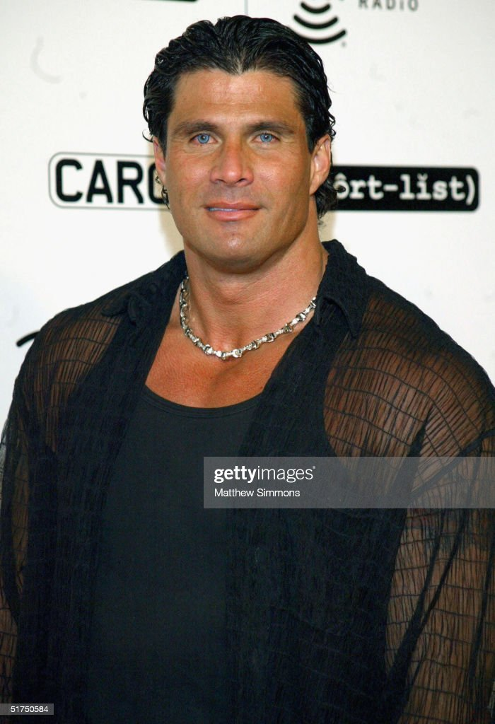 Baseball player Jose Conseco arrives at the afterparty for The Short List of Music Awards on November 15, 2004 at Spider Club in Hollywood, California.