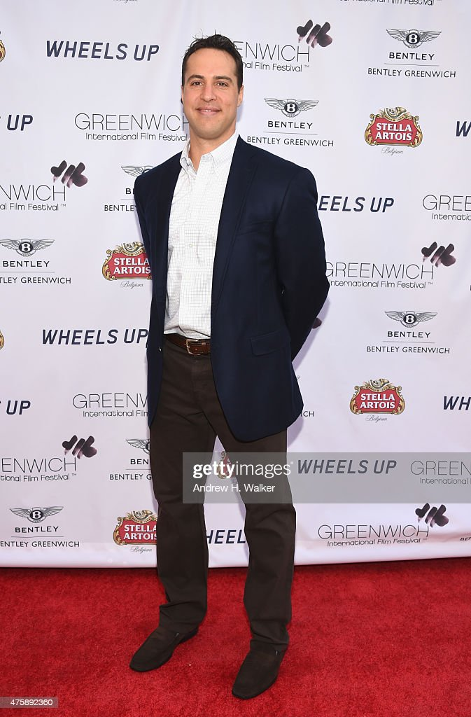 Baseball player <a gi-track='captionPersonalityLinkClicked' href=/galleries/search?phrase=Mark+Teixeira&family=editorial&specificpeople=209239 ng-click='$event.stopPropagation()'>Mark Teixeira</a> attends Greenwich Film Festival 2015 - Sports Guys On Sports Movies Premiere & After Party at Cole Auditorium at Greenwich Library on June 4, 2015 in Greenwich, Connecticut.