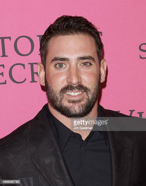 Baseball player Matt Harvey attends the 2015 Victoria's Secret Fashion Show after party at TAO Downtown on November 10 2015 in New York City