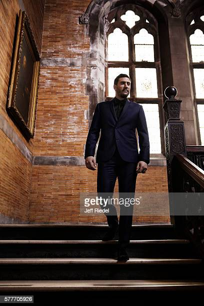 Baseball player Matt Harvey is photographed for New York Post's Alexa on February 8 2016 in New York City PUBLISHED IMAGE