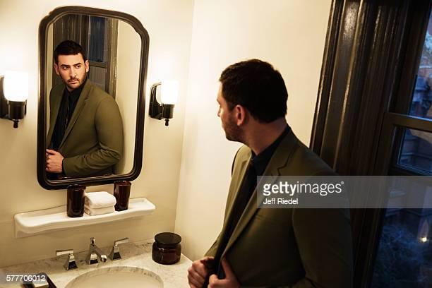 Baseball player Matt Harvey is photographed for New York Post's Alexa on February 8 2016 in New York City