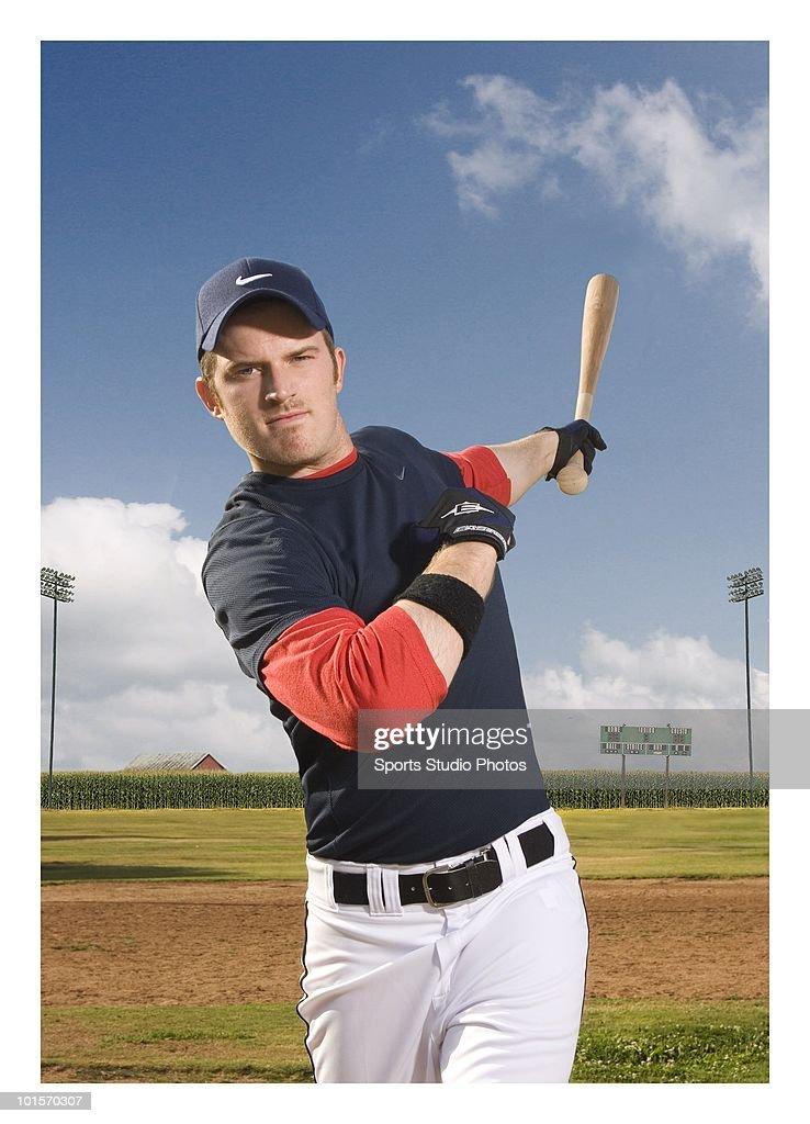 Baseball player photographed circa 2009 in Southern, California.