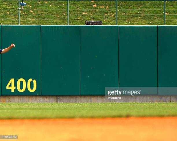 Baseball Player Playing in Live Baseball Game