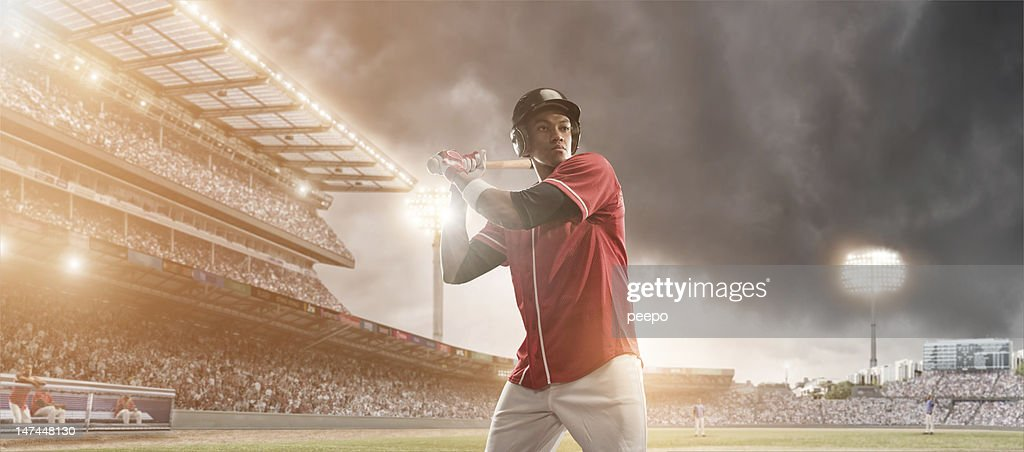 baseball player : Stock Photo