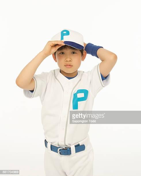 Baseball Player Wearing Cap