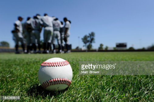 Baseball Players in the Field