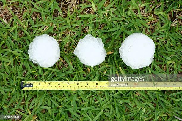 Baseball Size Hailstones