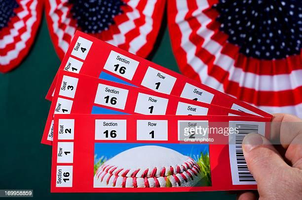 野球のチケット