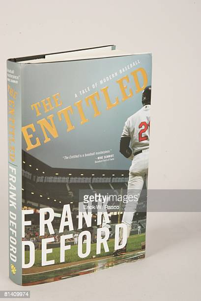 Baseball View of THE ENTITLED A TALE OF MODERN BASEBALL authored by Frank Deford and published by Sourcebooks Landmark at Time Life Building New York...