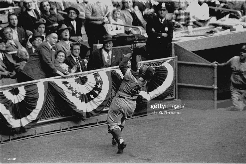 Brooklyn Dodgers Roy Campanella 1956 World Series