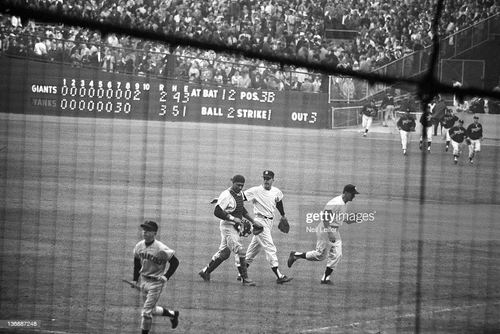 New York Yankees vs San Francisco Giants 1962 World Series