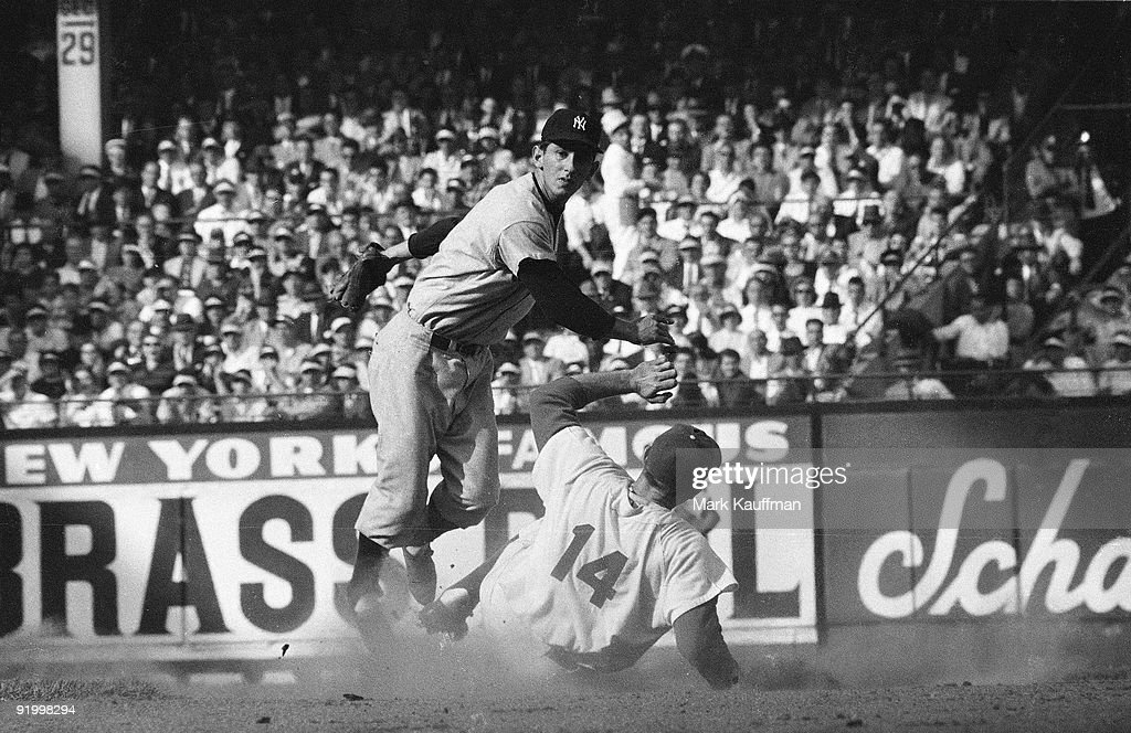 Brooklyn Dodgers vs New York Yankees 1955 World Series