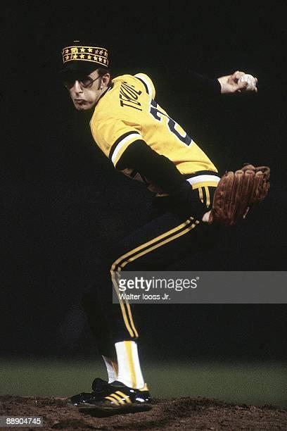 World Series Pittsburgh Pirates Kent Tekulve in action pitching vs Baltimore Orioles Game 2 Baltimore MD CREDIT Walter Iooss Jr