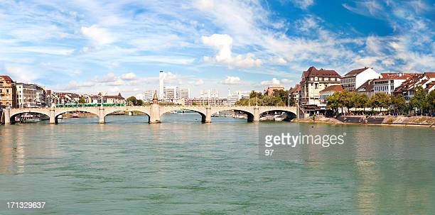 Basel and Rhine river, Switzerland