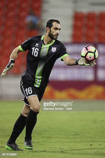 Basel Zidan of Muaither SC during the Al Arabi v Muaither SC match in the Qatar Stars League at Al Arabi Stadium on November 3 2016 in Doha Qatar
