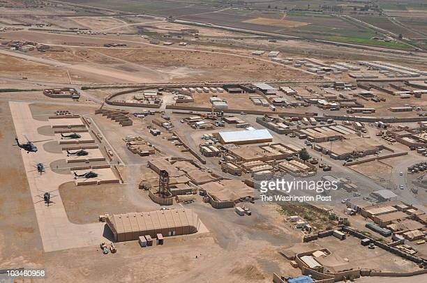 S bases like this one in southern Iraq are being stripped down and downsized as the US military draws down to 50000 troops by the end of August...