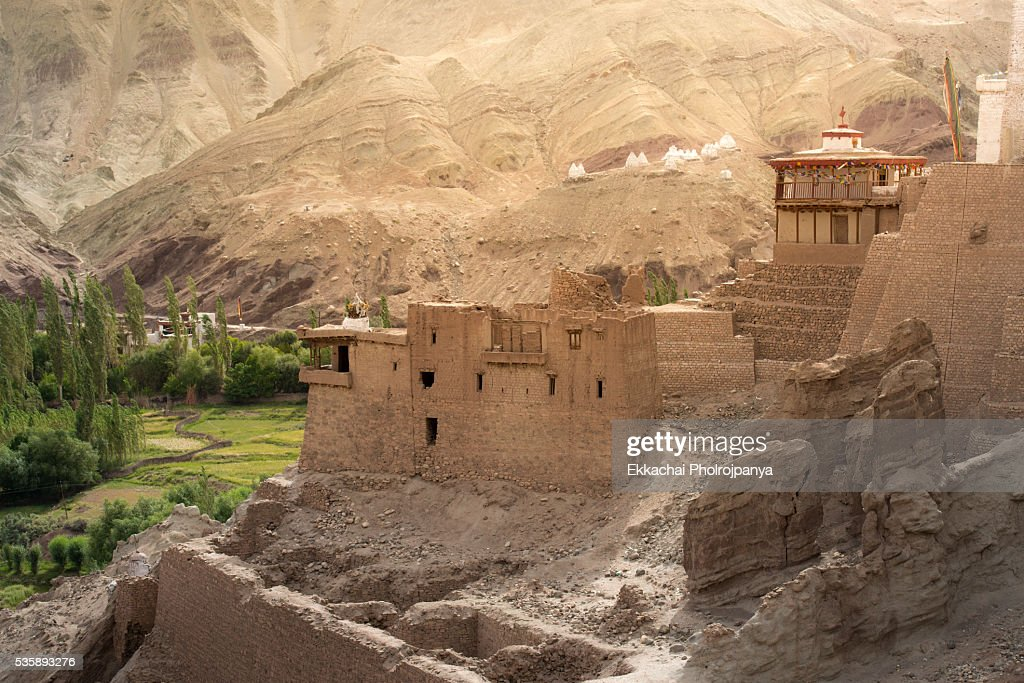 Basgo Monastery : Stock Photo