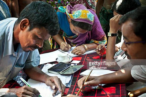 Bash Kata Indian enclave residents choose their citizenship Enclaves Exchange Coordination Committee July 9 2015 in Lalmonirhat District Bangladesh...