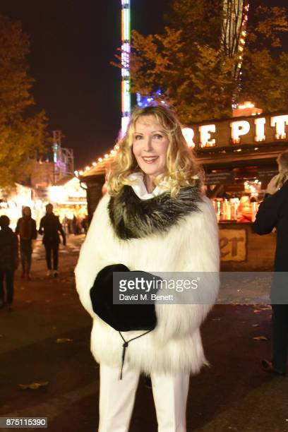 Basia Briggs attends the VIP launch of Hyde Park Winter Wonderland 2017 on November 16 2017 in London England