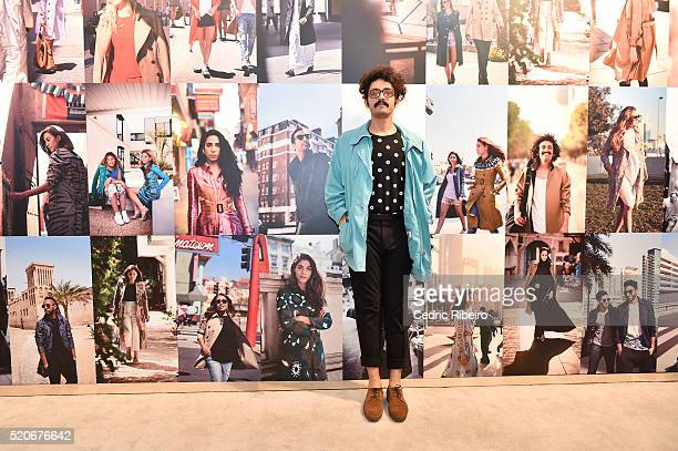 'DUBAI UNITED ARAB EMIRATES APRIL 12 Basil Al Hadi attends the Burberry Art of the Trench Middle East event at Mall of the Emirates on April 12 2016...