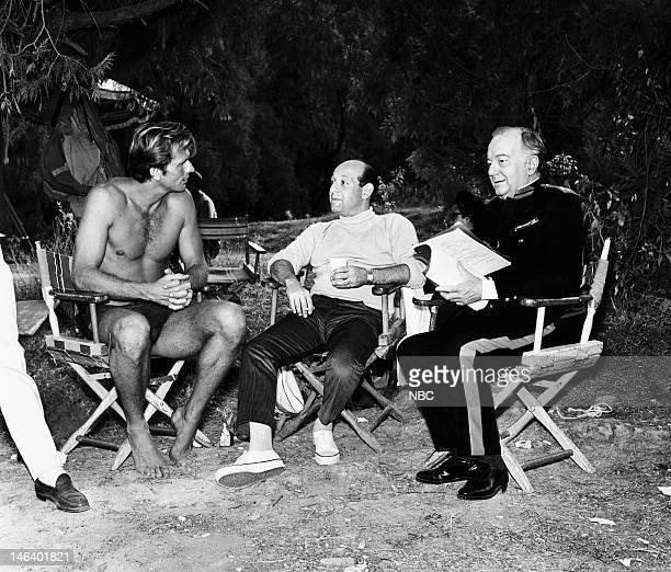 TARZAN 'Basil of the Bulge' Episode 22 Pictured Ron Ely as Tarzan unknown crew Maurice Evans as Sir Basil Bertram