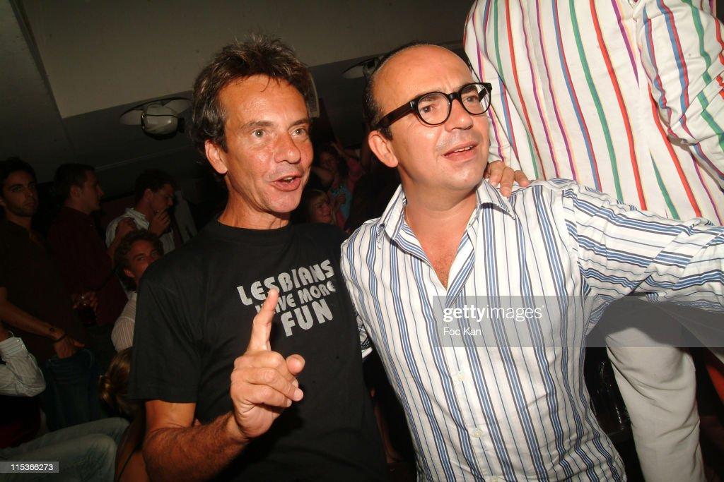 Karl Zero St Tropez Party-