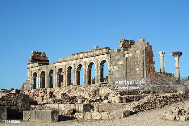 Basilica and Forum at Volubilis