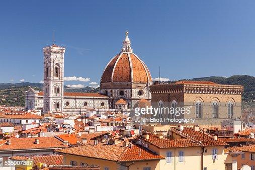 Basilica di Santa Maria del Fiore, Florence : Foto de stock