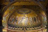 Basilica di Santa Maria in Trastevere.