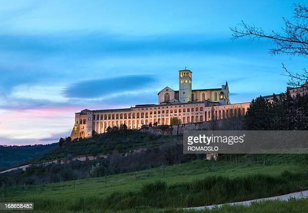 Basilica of San Francesco d'Assisi, Assisi Umbria Italy