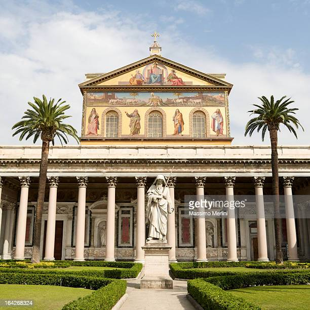 Basilica of St. Paul in Rome, Italy