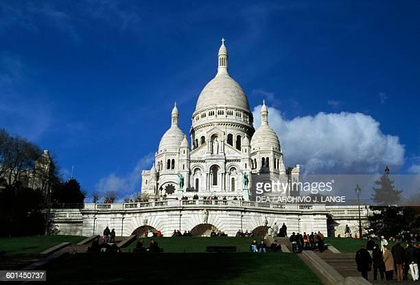 Basilica of the Sacred Heart 18731914 designed by Paul Abadie Paris IledeFrance France 19th century