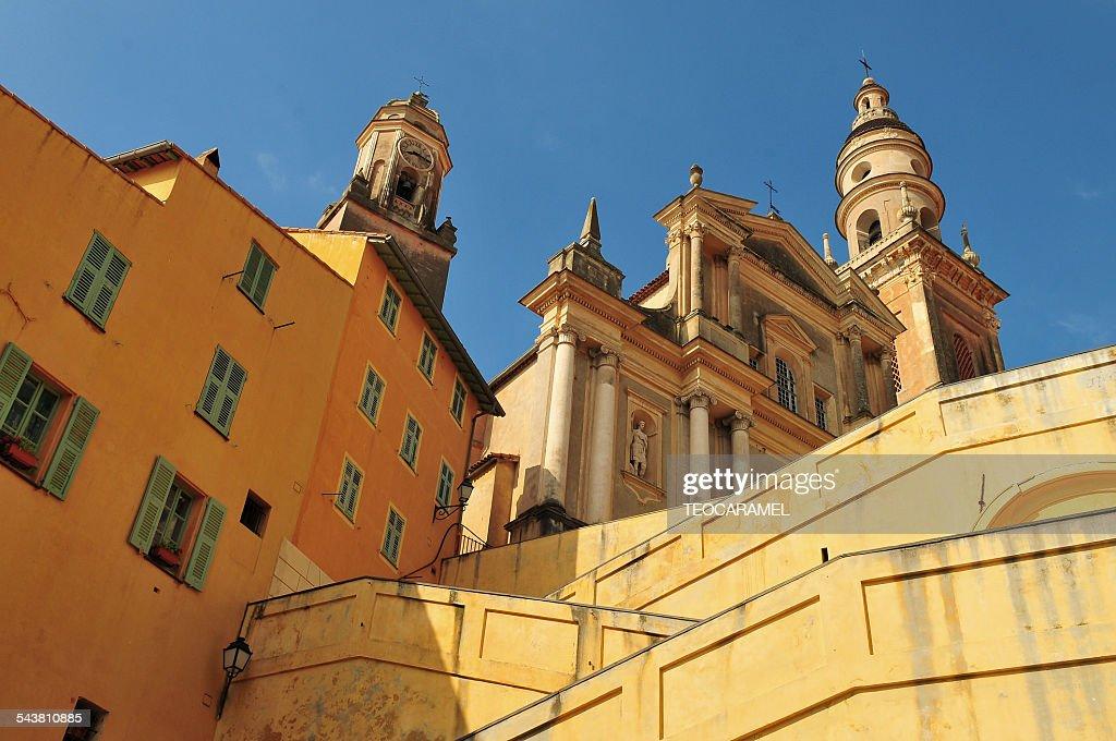 Basilica Saint-Michael Archangel. Menton