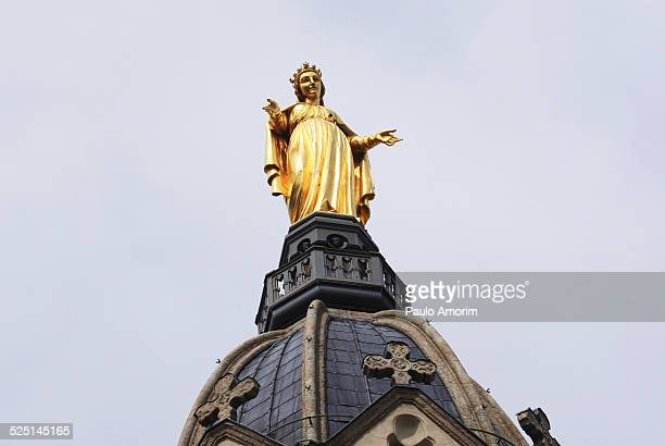 Basilique Notre-Dame de Fourviere in Lyon France