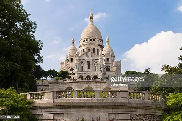 Basilique Sacré Coeur, Montmartre, Paris, France