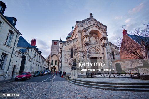 Basilique Saint Martin in the city of Tours.